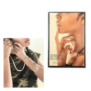 Flash Tattoos Beyonce Authentic Temporary Tattoos